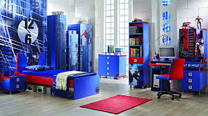 cool ideas spiderman bedroom biege study twin kids study room