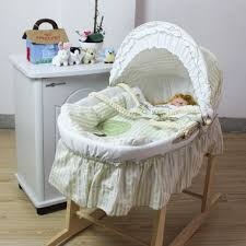 baby moses basket bassinet with rocking stand baby nursery furniture teddington collection