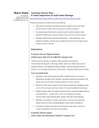 florida title insurance representative resume