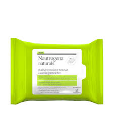Neutrogena Naturals <b>Purifying</b> Makeup Remover <b>Cleansing Wipes</b> ...