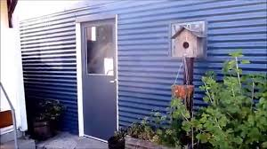 shedman video 1 how to build a modern office out of an old shed build office video