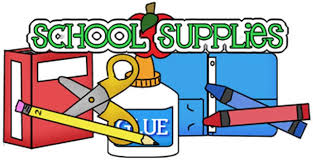 Image result for free school supplies clipart
