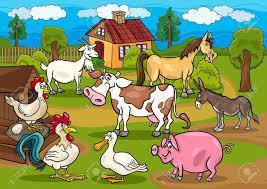 Znalezione obrazy dla zapytania zwierzęta na wsi clipart