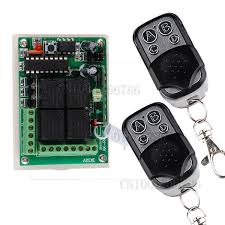 <b>DC 12V 10A 4CH</b> Learning Code RF Wireless Remote Control Light ...
