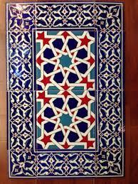 tile backsplash light turkish