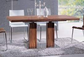delivery dorset natural real oak dining set: natural  dining room charming modern dining room decoration with rectangular solid oak wood double pedestal dining table including modern wooden dining table base and furry light grey rug under dining table new