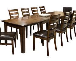 expandable dining table ka ta: intercon kona dining table with  leaves item number ka ta