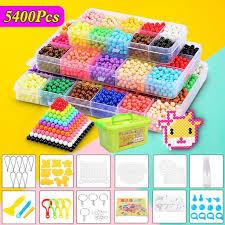 5400pcs 30 Color <b>Toy</b> DIY Handmade Water Sticky <b>Beads</b> Magic ...