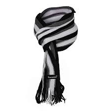 Ramanta <b>Soft</b> Warm Striped Men's <b>Women's</b> Woolen Muffler (Black ...