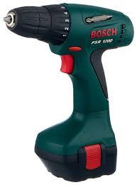 Купить Аккумуляторная <b>дрель</b>-<b>шуруповерт BOSCH PSR</b> 1200 1.2 ...