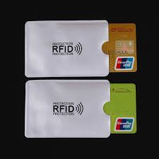 <b>5Pcs</b>/<b>Lot Anti Rfid Wallet</b> Blocking Reader Lock Bank Card Holder Id ...