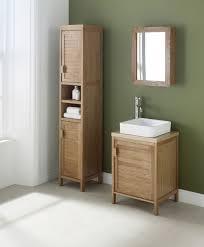 furniture unfinished oak bathroom