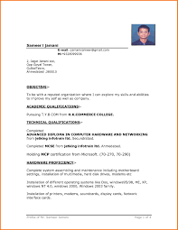 resume template curriculum vitae microsoft simple word templates resume template simple resume in word format 4 simple resume format word file resume