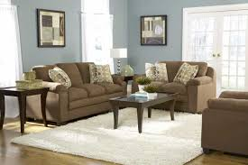 blue living room set