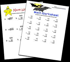 Printable Math WorksheetsBasic Math Worksheets