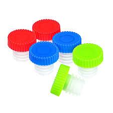 <b>Набор пробок для бутылки</b> 6 шт, пластик, 2,5х2,5 см в магазинах ...
