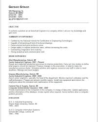objective statement engineering resume objective  seangarrette coresume objective examples for engineering industrial engineer resume example   objective statement engineering resume