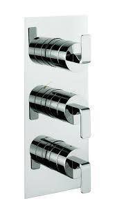 thermostatic brand bathroom: kh zero  thermostatic bathroom shower valve with  way diverter from kelly hoppen at