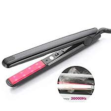 ckeyin travel hair straightener flat iron wave roller magic curling straightening fast straight styling tool