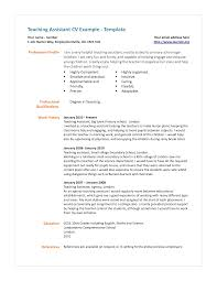 best teacher assistant resume cipanewsletter teacher assistant resume berathen com