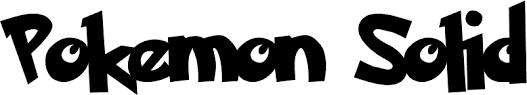 Resultado de imagem para fontes de letras pokémon