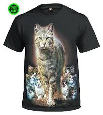 Mens Meow <b>Cute Cat</b> Whiskers Funny T-Shirt T-Shirts