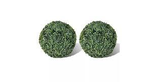 <b>Boxwood Ball Artificial Leaf</b> Topiary Ball 27 cm 2 pcs - Matt Blatt