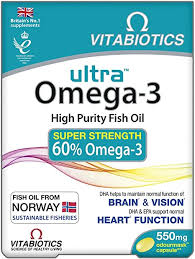 Vitabiotics <b>Ultra Omega-3</b> Capsules, Pack of 60: Amazon.co.uk ...