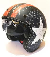 <b>2019 new</b> fashion Motorcycle Helmet Harley 3/4 Open Face Vintage ...