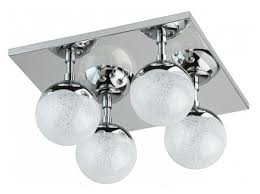 """Потолочный <b>светильник</b> """"<b>каспер</b>"""" (<b>Demarkt</b>) серебристый стекло ..."""