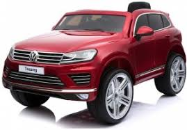 <b>Детский электромобиль Dake VW</b> Touareg Wine Red 12V 2.4GHz ...