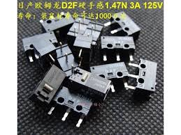 <b>New arrival original</b> made in Japan Omron mouse micro switch D2F ...