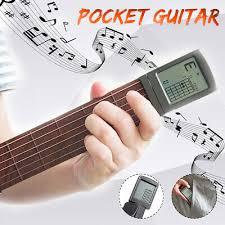 SOLO <b>Guitar Chord Trainer</b> Pocket <b>Guitar Portable Guitar</b> Finger ...