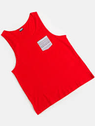<b>Майка</b> Contrast Pocket Jersey Big Tank <b>URBAN CLASSICS</b> ...
