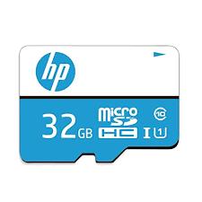HP 32GB Class 10 <b>MicroSD</b> Memory Card (U1 <b>TF Card</b> 32GB) - Buy ...