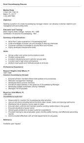 cover letter samples housekeeping jobs best resume header fonts housekeeper resumes