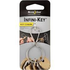 <b>Брелок</b> для ключей <b>Nite Ize Infini</b>-<b>Key</b> (сталь) - РыбачОК ...