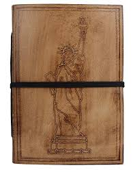 Statue of Liberty Embossed Leather Journal - New ... - Amazon.com