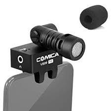 <b>Comica CVM</b>-<b>VS09</b> USB Type C Phone Microphone <b>Cardioid</b> ...