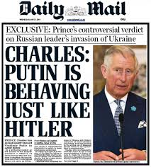 Putin = Hitler