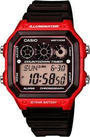 Наручные <b>часы Casio</b> Collection <b>AE</b>-<b>1300WH</b>-4A — купить в ...