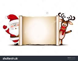 christmas card design template santa claus stock vector 345596528 christmas card design template santa claus and his reindeer