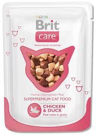 <b>Консервы</b> Для взрослых кошек <b>Brit Care Cat</b> Pouches Chicken ...