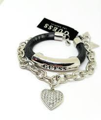 <b>Двойной браслет</b> GUESS с подвеской Сердце-оригинал – купить ...