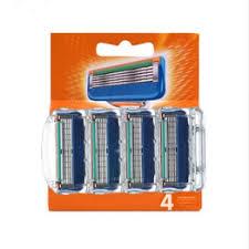 4pcs/lot Razor Blades 5 Layer Blades Shaving for Gilettee ... - Vova