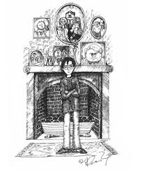 j k rowling harry potter wiki fandom powered by wikia jk rowling s drawing of harry at the dursleys