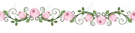 Image result for pink rose bud clipart