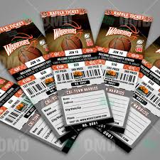 sports invites basketball raffle ticket template raffle ticket design 4 product 3