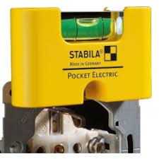 Отзывы о Магнитный карманный <b>уровень Stabila Pocket Electric</b>
