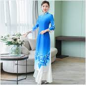 <b>2019</b> silk satin <b>traditional chinese dress</b> women short sleeves ...